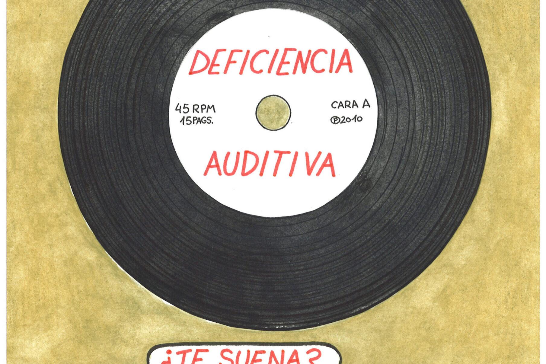 Portada Guía Didáctica del Cómic Deficiencia auditiva ¿Te suena?