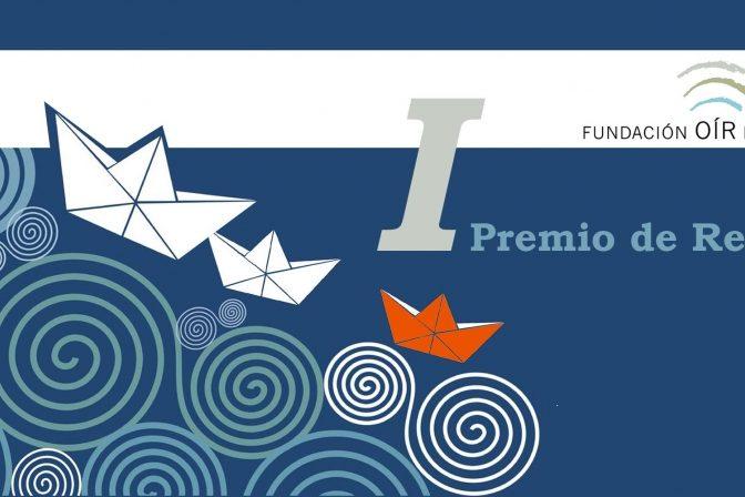 Portada gráfica de I Premio de relatos de la Fundación Oír es Clave