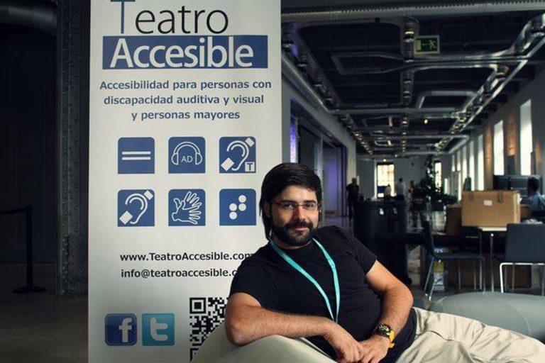 Fotografía Personal de Jiménez Dorado, D. Javier (Experto en Teatro Accesible)
