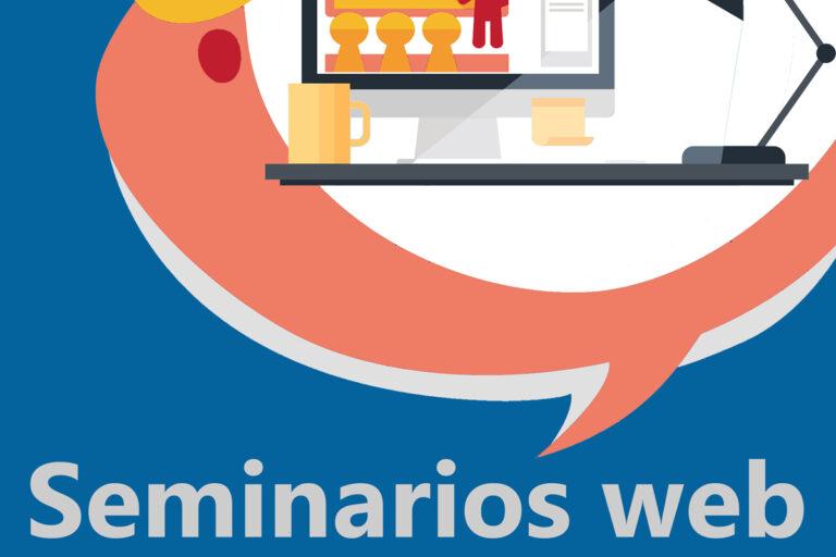Gráfico Promocional Seminarios online